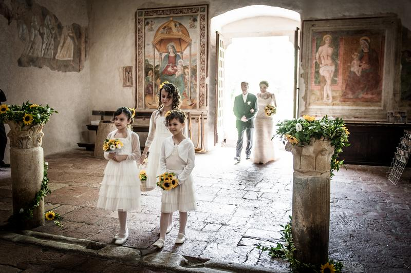 damigelle e sposa