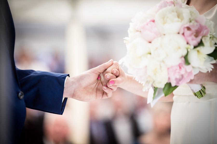 dettaglio del matrimonio